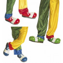 wholesale Shoes:  deluxe clown  shoes  3 colors assorted -  for adul