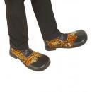 Luipaard partij schoenen met zware zool - voor