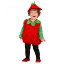 wholesale Costumes: strawberry (jumpsuit, headpiece), Size: ...