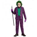 böse Joker (Jacke mit Weste, Hose, Krawatte), Gr