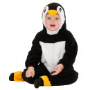 fuzzy penguin   (hooded jumpsuit) 2 sizes assorted