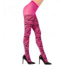 wholesale Toys: pink zebra pantyhose 40 den, Size: (One Size Fit