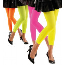 neon leggings  70  den - 4 colors assorted, Size: