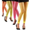 hurtownia Mieszkanie & Dekoracje:  Neon legginsy  kabaretki  4  kolory ass., ...