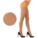 groothandel Speelgoed:  Gold glitter  panty  40 den,  Afmeting: (XL) - ...