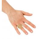 groothandel Accessoires & Onderdelen:  Diamante $ ring   - voor volwassenen / unisex