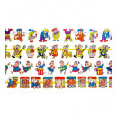 wholesale Toys: jointed party garland 2 m - 4 styles assorted, H