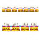 grossiste Cadeaux et papeterie:  Gâteau  d'anniversaire guirlande  3 m