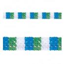 Tricolor papier guirlande  ø 18 cm -4 m