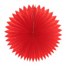 china red paper fan ø 75 cm, Hat size: 0