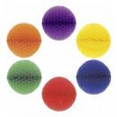 mayorista Jardin y Bricolage:  Unicolor de panal  bola de papel  ø 28 cm - 6 colo