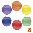 wholesale Gifts & Stationery:  unicolor paper  ball  ø 33 cm - 6 colors assorted