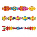 deluxe decorated paper garland 6 m - 3 styles as