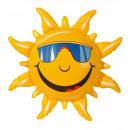 Großhandel Geschenkartikel & Papeterie:  Aufblasbare Sonne  60 cm