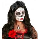 groothandel Home & Living:  Rode roos broche   10 cm - voor volwassenen / unis
