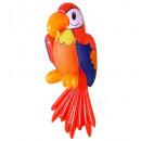 Großhandel Geschenkartikel & Papeterie:  Aufblasbare Papagei  60 cm