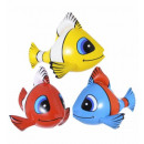 Großhandel Geschenkartikel & Papeterie:  Aufblasbare  tropische Fische  60 cm -3 Farben ass