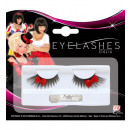 wholesale Licensed Products:  black eyelashes  with red bows  with glass bottle