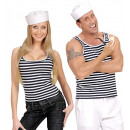 wholesale RC Toys:  sailor singlet   striped, Size: (XL) -  for adults