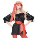 groothandel Accessoires & Onderdelen:  rode sjerp /  headwrap  satijn - voor volwassenen
