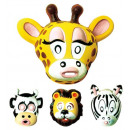 wholesale Toys:  zoo park mask   plastic - 4  stylesassorted - ...