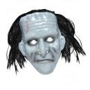 grossiste Jouets: Masque de monstre pvc avec des cheveux - pour le