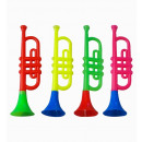 wholesale Music Instruments: sounding trumpet various colors assorted - for