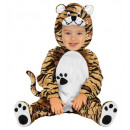 tiger  (jumpsuit  with headpiece), Size: (90 cm /