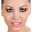 rainbow  eyelashes  with  glue tube - for ...