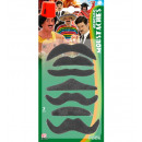 wholesale Toys: set of 7 moustaches , Hat size: 0 - for men