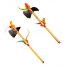 wholesale Toys:  native indian  weapons  set of 2 -2 styles assorte