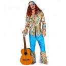 ingrosso Moda e tradizione:  l'uomo  hippie  velluto  (camicia, ...