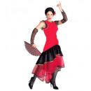 Lola (robe de tissu extensible, gants), Taille: