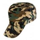 ingrosso Cappelli:  Berretto militare  camouflage  regolabile - per gl
