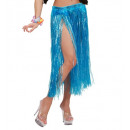 wholesale Skirts: hawaiian skirt - blue color - 75 cm - for women