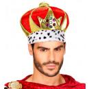 deluxe maxi velvet kroon bezaaid met juwelen  -