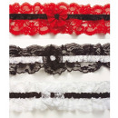 wholesale Toys: lace garter 3 colors assorted, Hat size: 0 - fo
