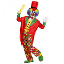 Clown (tailcoat, Weste, Fliege, Hose, Mütze), Si