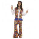 ingrosso Moda e tradizione:  L'uomo  hippie  (camicia  con gilet, ...