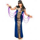 Nefertiti  (jurk met sluiers, armbanden, kraag ee