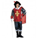 wholesale Costume Fashion:  musketeer  (coat  with gems, cape,pants with boot