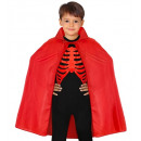 wholesale Toys: child size red cape 90 cm - for children / unis