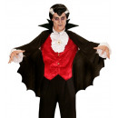 wholesale Toys: black vampire cape with stand-up collar 100 cm -