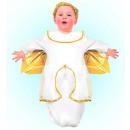 groothandel Speelgoed: engel (bunting, hoofdstuk), maat: (0-9 maanden)