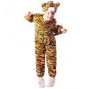 wholesale Dolls &Plush: plush tiger (jumpsuit, headpiece), Size: ...