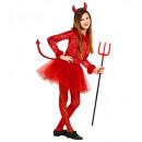 ingrosso Ingrosso Abbigliamento & Accessori:  Devil girl  (body  con feathertrim, gonna con