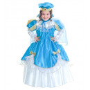 wholesale Scarves, Hats & Gloves: blue princess (dress with wire hoop, cape, headp