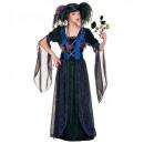 Gothic Princess (Kleid, Kopfbedeckung mit Schlei