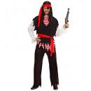 ingrosso Moda e tradizione:  Pirata  (camicia,  gilet, pantaloni, cintura, fasc