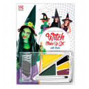 wholesale Make-up Accessoires: witch make-up set with accessory (4 colours 4,5